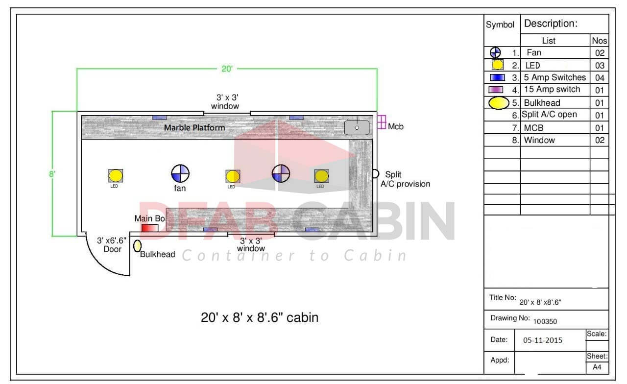 readymade cabins for office